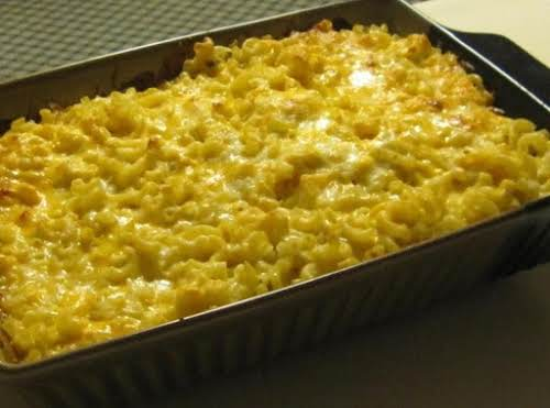 """Click Here for Recipe: 5 Cheese Macaroni """"I made this and my..."""