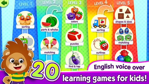 Funny Food Educational Games for Kids Kindergarten