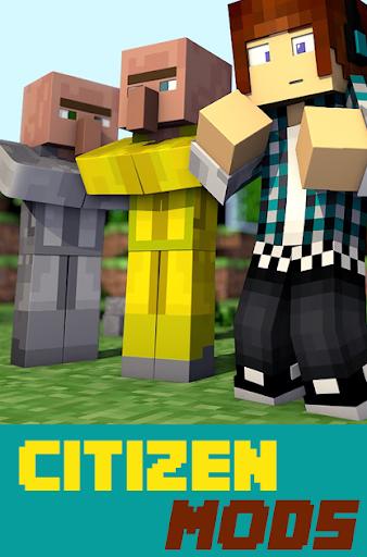 Citizen Mods For MCPE