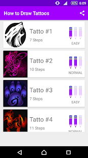 Learn How to Draw Tattoos - náhled