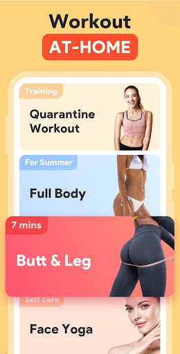 Women Workout at Home - Female Fitness Apk 1