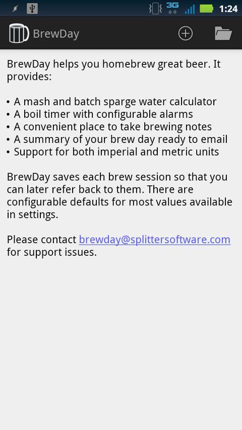 Скриншот BrewDay