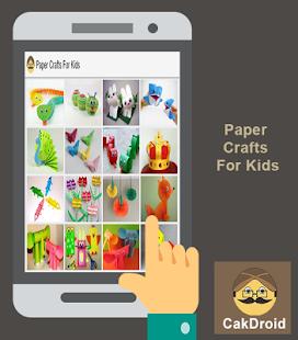Papírové řemesla pro děti - náhled