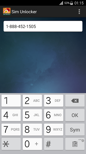Sim Unlocker screenshot