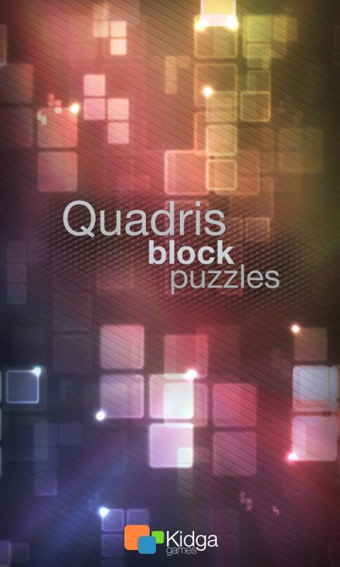 Quadris Puzzles- screenshot