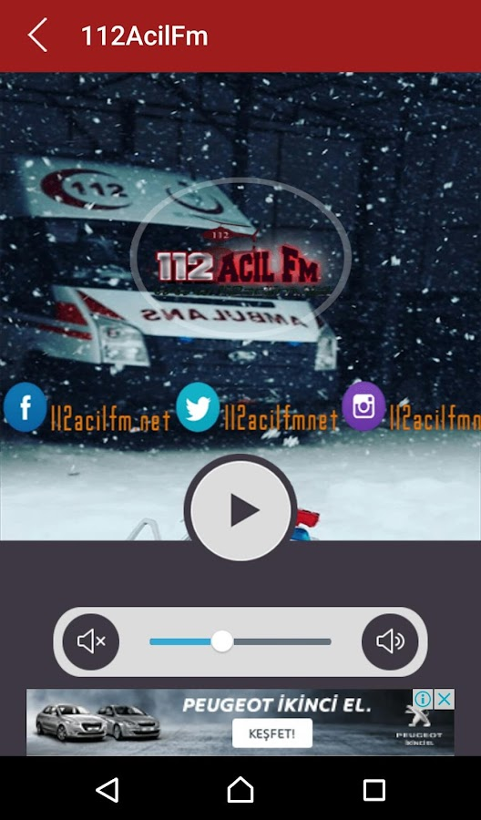 112AcilFm- screenshot