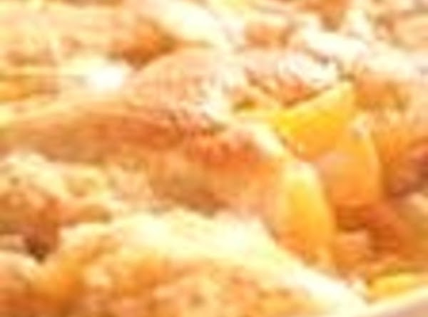 Mom's Easy Peach Cobbler Recipe