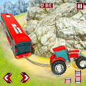 Offroad Tractor Vehicle Rescue Transport Truck icon