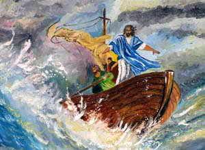 Chúa vẫn đang ở sẵn trên thuyền