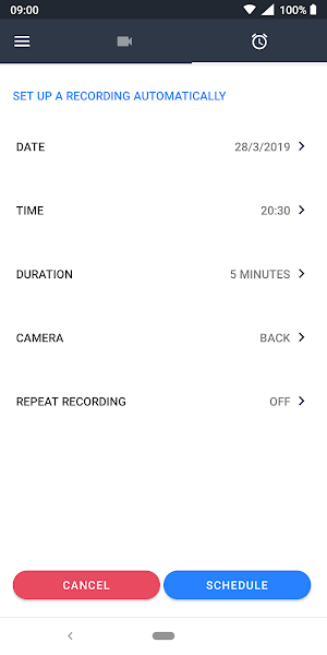 Quick Video Recorder Pro Screenshot Image
