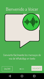 Voicer for WhatsApp: miniatura de captura de pantalla