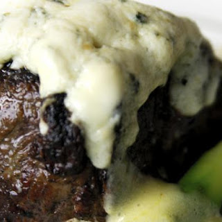 Steak with Gorgonzola Sauce - the perfect flavor combination.