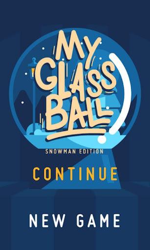 My Glass Ball - Snowman