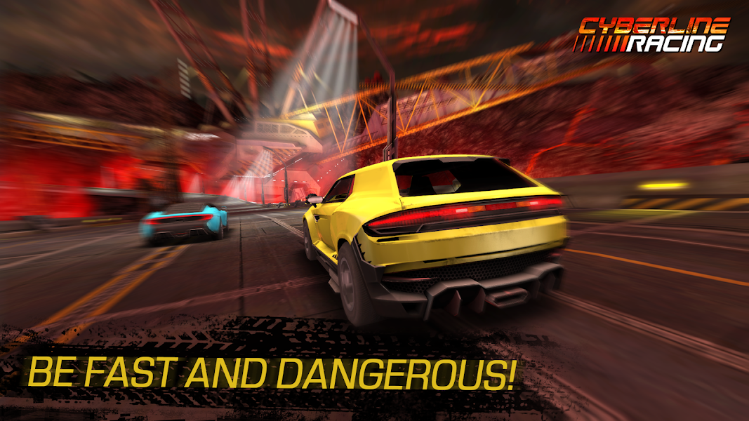 Cyberline Racing Apk - screenshot