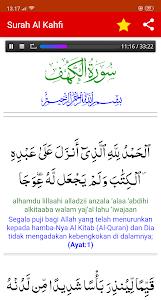Download Surat Al Kahfi Arab Latin Terjemah Mp3 Apk