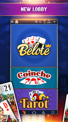 VIP Belote - French Belote Online Multiplayer android2mod screenshots 3