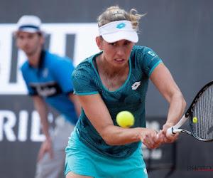 Elise Mertens herstelt niet na twee gemiste setballen en stuit op vijfde reekshoofd in kwartfinales in Luxemburg