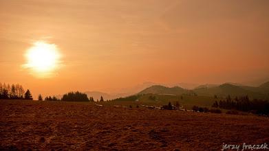 Photo: Zachód słońca pod Durbaszką
