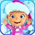 Talking Baby Babsy Winter Fun icon