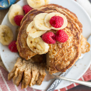 Vanilla Chai Vegan Banana Pancakes