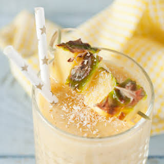 Cold Busting Pineapple Smoothie.
