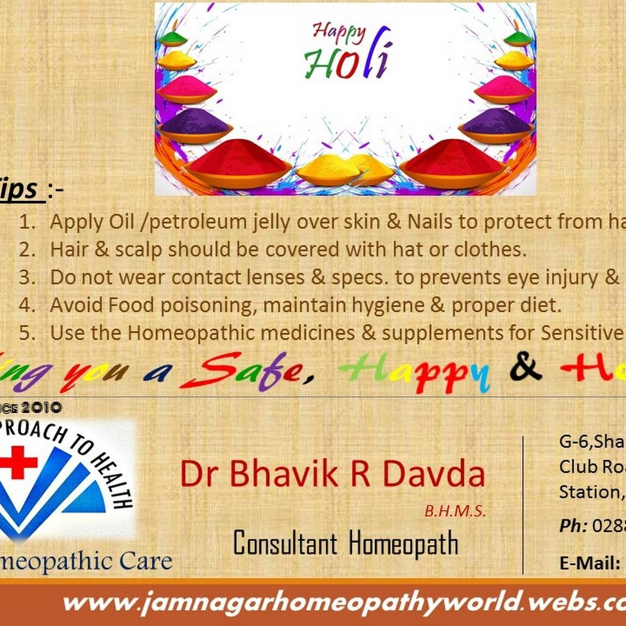 DAVDA Homeopathic Care | Consulting Homeopathy | Clinic
