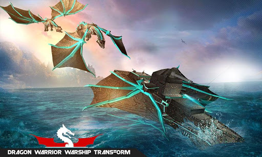 Flying Dragon Transformation Robot Battleship Game 1.2 screenshots 2