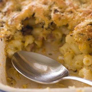 Macaroni and Chicken Casserole.