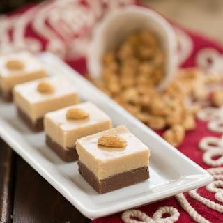 Layered Chocolate Peanut Butter Fudge Recipe