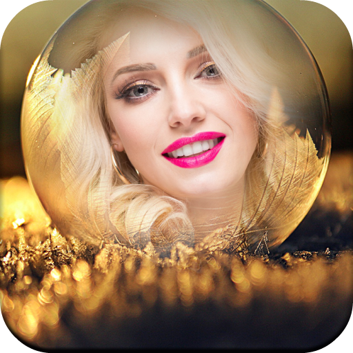 Crystal Ball Frames for Pictures with Effects Icon