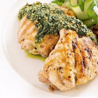 Pesto Chicken.
