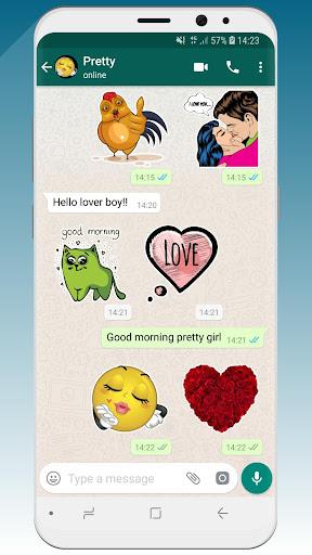 ? WeLove : love stickers (WAStickerApps) 2.2 screenshots 2
