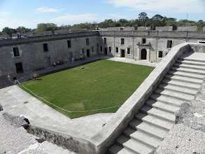 Photo: The fort courtyard.