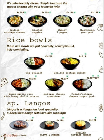 Kurtosshhh menu 4
