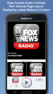 Fox News Radio- screenshot thumbnail