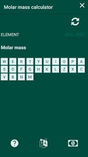 Molar mass calculator periodic table apps on google play screenshot image urtaz Gallery