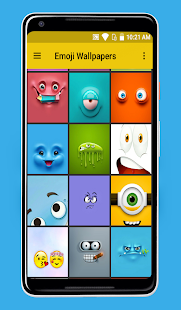 Emoji Wallpapers Screenshot