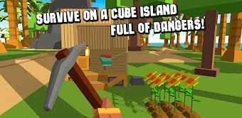 Cube Island Survival Simulator