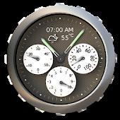 Weather & Analog Clock Widget