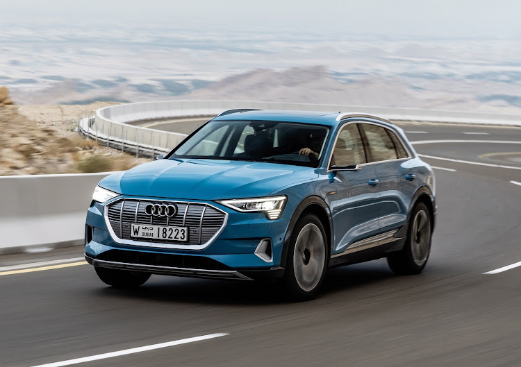 Audi's new e-tron has been nominated for the overall as well as the World Green Car award. Picture: SUPPLIED