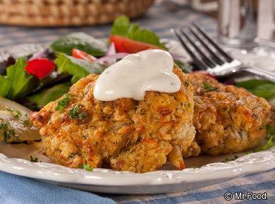 Idaho Potato Crab Cakes Recipe