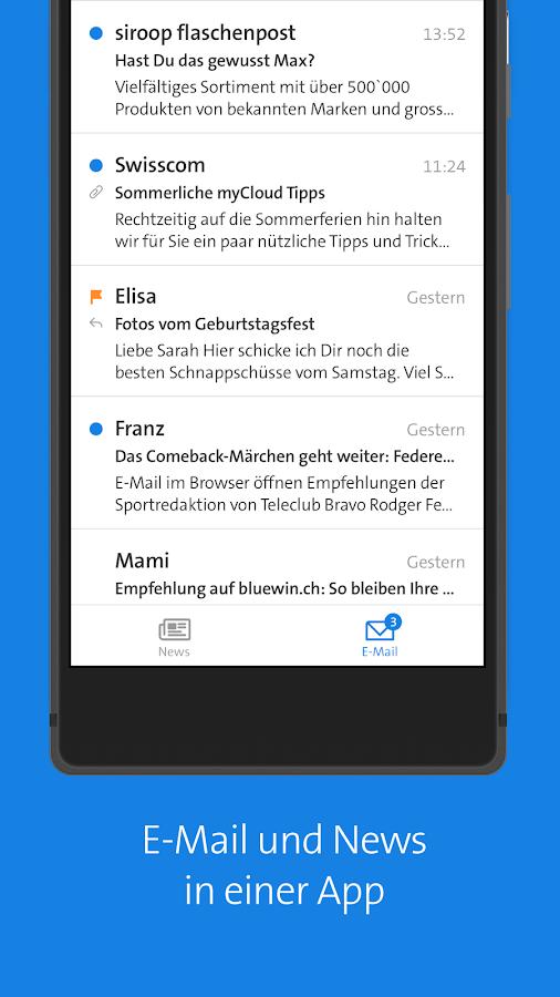 Bluewin E Mail
