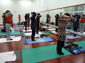 Photo: 20110316健康活力瑜珈005
