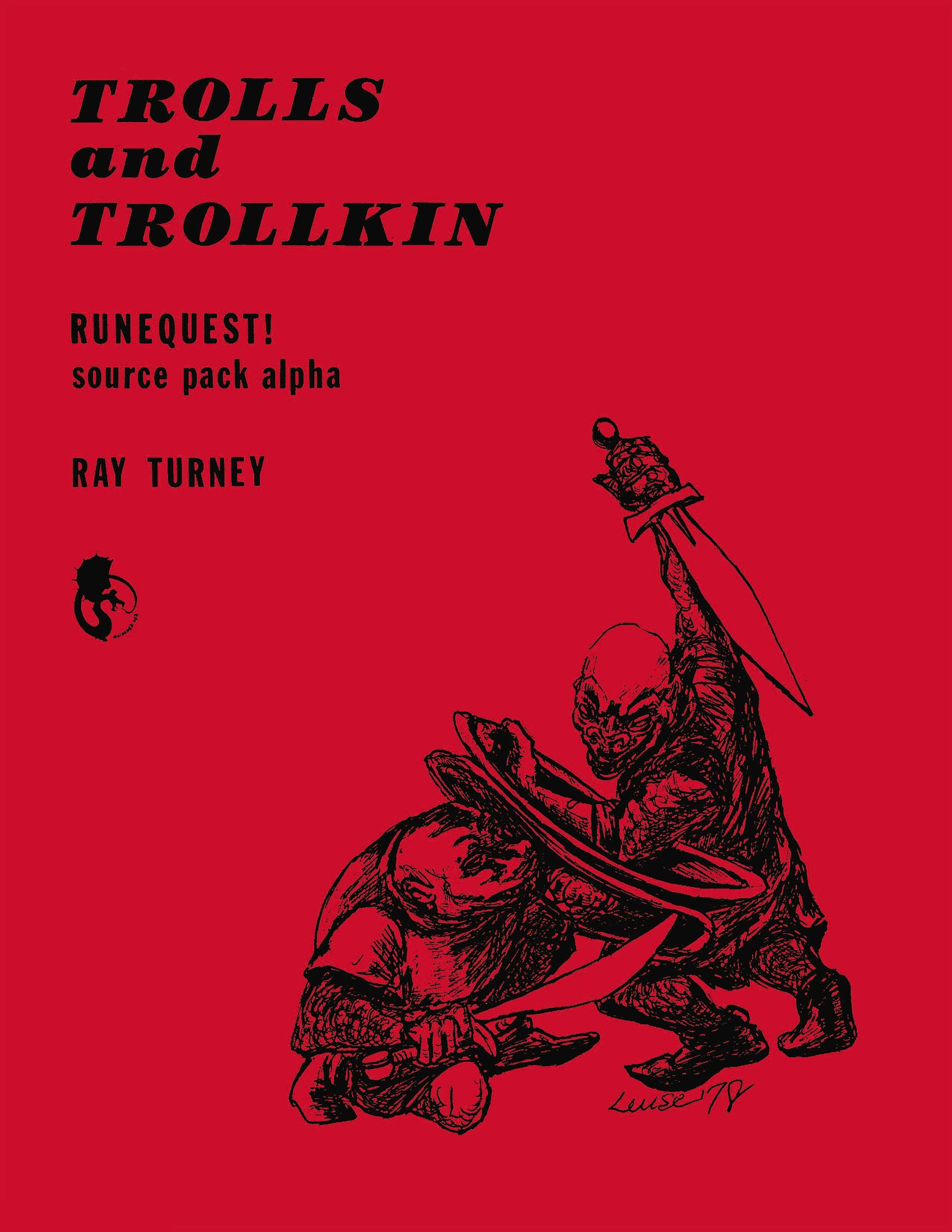 Trolls and Trollkin