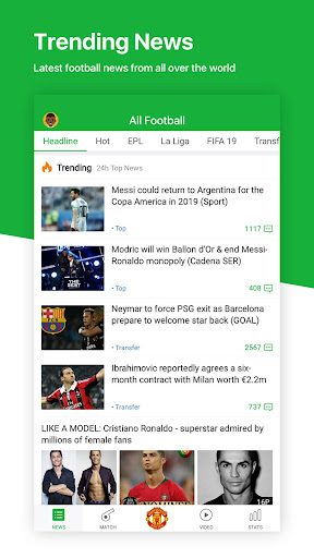All Football - Latest News & Live Scores 3.1.3 screenshots 2