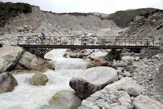 Photo: Waterfall crossing at Thukla