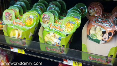 Photo: That's when I spotted these great Disney Foodles snack crunch packs. I grabbed a few for the party.