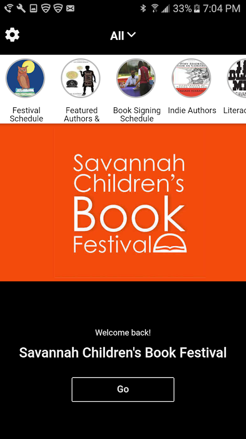 Savannah Children's Book Fest- screenshot