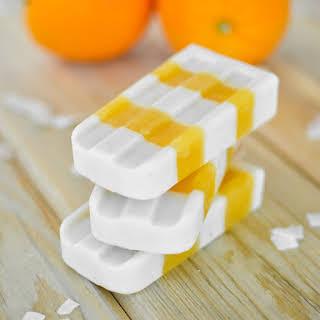Orange Coconut Creamsicles.