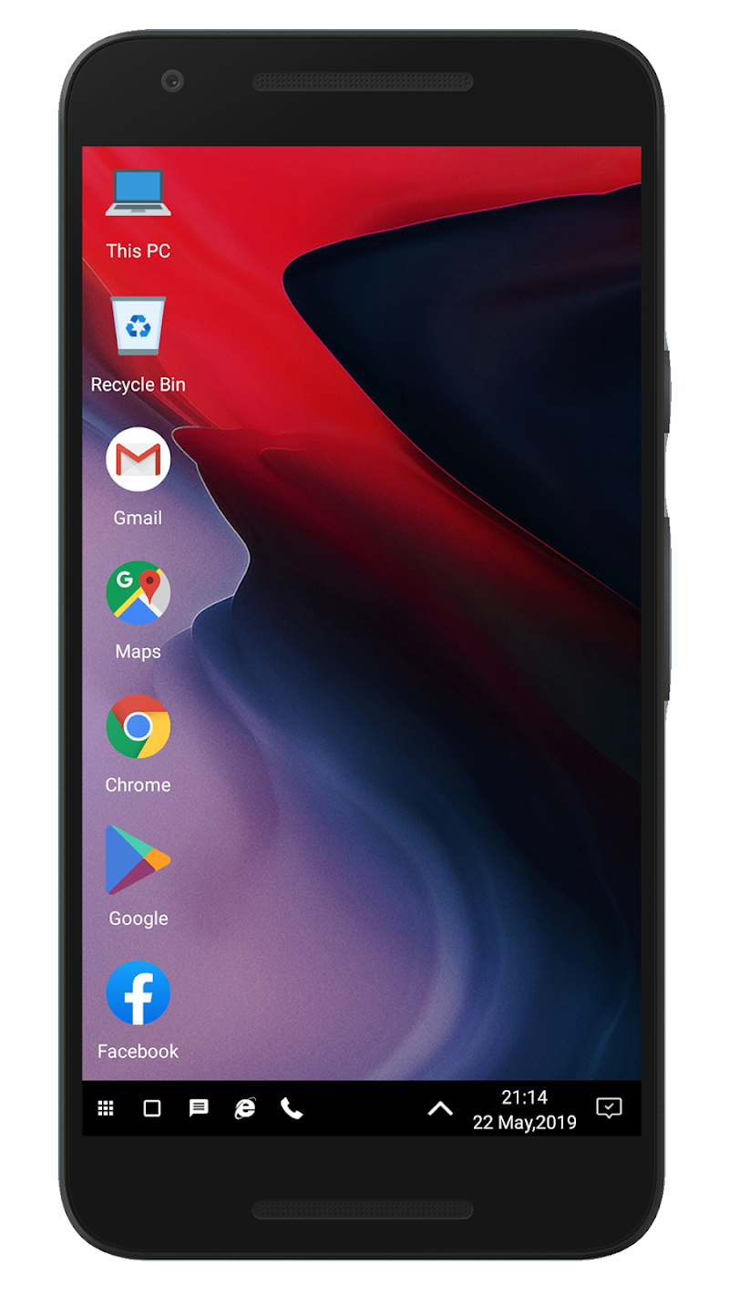WX Launcher - Windows 10 styled 2019 Launcher APK Cracked Free